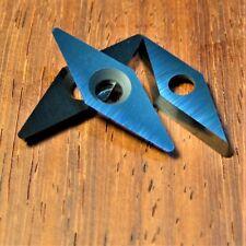 Ci4 28x10mm Carbide Cutter Insert diamond fits Easy Wood Tools Ci4 3Pack &Screws