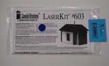 N Scale AMB LASERkit #603 * Small House / shanty