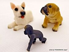 Used Dog Miniature figure Set of 2 & micro Figure monkey Japan