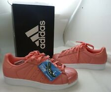 Adidas Women's Pink Superstar Metal Toe Sneakers SZ 7 NIB