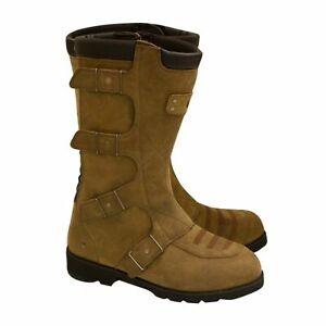 Leather Motorcycle Boots > Merlin G24 Clan Waterproof Outlast - Brown