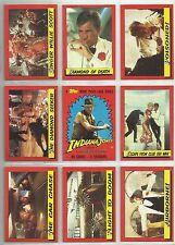 Temple of Doom (Indiana Jones) - Complete Card Set (88/11) 1982 Topps - NM