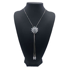 Betsey Johnson Sun flower Pendants charm Sweater chain Long Necklace Fashion NEW
