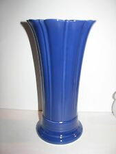 """Fiesta Dinnerware, Vintage, 1936-1942, HTF, 10"""" Vase, Fiestaware, Cobalt Blue"""