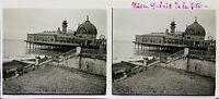 NICE Costa d'Azur STEREO Targa per lente positivo 6x13cm, verso 1910