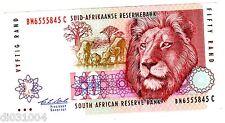 Afrique Du SUD SOUTH AFRICA Billet 50 RAND ND ( 1992 ) P125 RARE LION aUNC