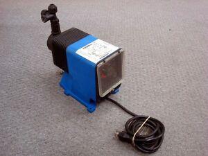 USED PULSATron LPD3SA-PTC1-XXX E Plus Electronic Metering Pump 11 GPD 250 psi