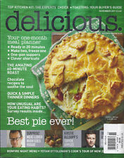 Delicious magazine Best pie Meal planner Hour roast Chocolate recipes Toffee
