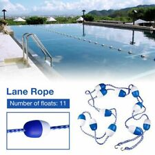 Safety Float Lines Blue White Divider Rope Ball Swimming Pool Inland Accessories
