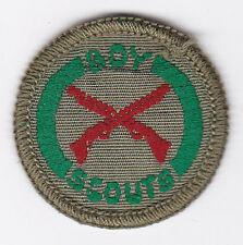 1960's UNITED KINGDOM / BRITISH SCOUTS - BOY SCOUT MARKSMAN Proficiency Badge