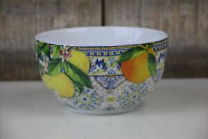 Easy Life - Müslischale / Schälchen - Capri Agrumi - Zitronen Orangen - Italien