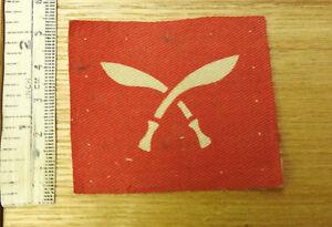 An Original Military WWII 48th Gurkha Infantry Brigade Cloth Badge (4093)