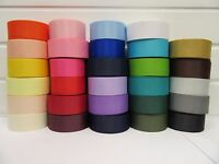 2 or 20 metres 6mm 10mm 16mm 22mm 38mm Grosgrain Ribbon Roll Ribbed UK VAT Reg