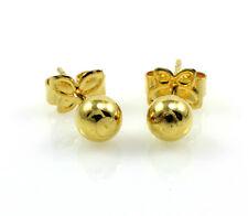 18k Gold Filled Ball Stud Earrings - 5mm