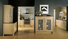 Broadoak Sanded Oak Kitchen, Rigid Built Kitchens, Shaker style, Second Nature