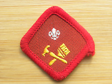 Astronimer Discontinued UK Scouting 1980/'s Scout Proficiency//Activity Badge