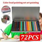Top 72 X Profession Artist Pencils Set Drawing Sketching Colouring Art Kit Adult