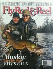 Fly Rod & Reel Winter 2017 Fishing Musky The Fish Bites Back Tyes FREE SHIPPING