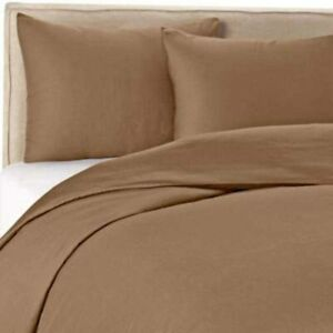 Wamsutta 400 Thread Count Twin Duvet Cover Set in Canvas, New