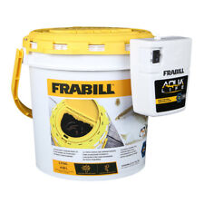 Frabill Dual Fish Bait Bucket w/Clip-On Aerator