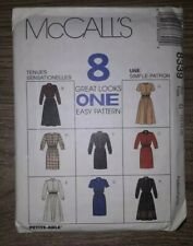 McCALLS Sewing Patterns, 8339 8 In 1 Ladies Outfits Easy Size 12 -14 -16, Used
