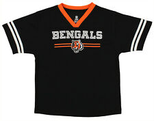 OuterStuff NFL Youth Boys Team Color Mesh Jersey, Cincinnati Bengals