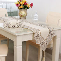 Nordic Lace Table Runner Tablecloth Home Wedding Party Banquet Decoration 220CM