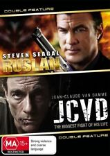 RUSLAN and JCVD DVD - 2 DISC SET=REGION 4 = SEAGLE AND VAN DAMME=VERY GOOD COND.