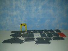 Motorific Racerific 22 Pieces 1960's Ideal Track Assortment Slot Car Lot