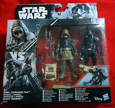 Rebel Commando Pao / Death Trooper - Actionfigur 2-Pack - Star Wars Rogue One