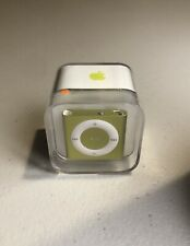 Factory Sealed Apple iPod Shuffle 4th Generation Yellow/Green (2GB)