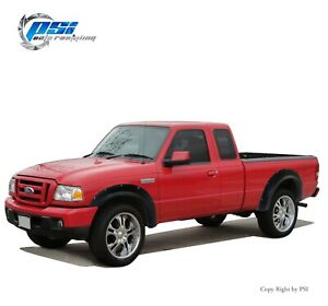 Sand Blast Textured Pocket Rivet Bolt Fender Flares Fits Ford Ranger 93-11