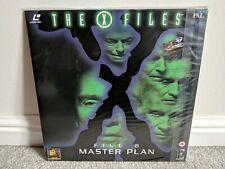 The X Files File 6 Master Plan Laserdisc LD PAL