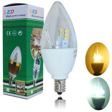 E12 5W LED Chandelier Candle Light Bulb Candelabra Cool Warm White Lamp 5-20pack