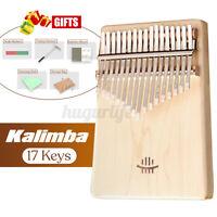 17 Key Kalimba Finger Thumb Piano Practical Muscial Instrument For Beginner Gift