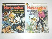 NATASCHA  Nr. 14 und 15, sehr guter Zustand (1), Carlsen 1. Auflage,  WALTHÈRY ,