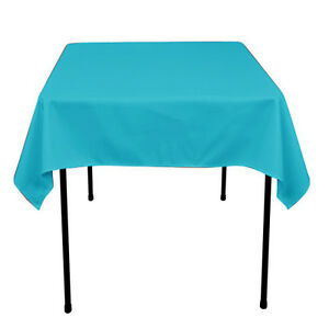 Small Tablecloth Polyester Square 36 Inch By Broward Linens (Variety of Colors)