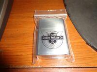 Vintage Harley Davidson Barlow Lighter DUDLEY PERKINS CO.B7 New Wind Proof