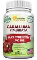 aSquared Nutrition Caralluma Fimbriata 1200mg - 180 Capsules - 100% Pure Extract