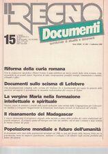 1988 09 01 - IL REGNO DOCUMENTI - 01 09 1988 - N.600 - ANNO XXXIII - RIFORMA DEL