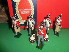 TRADITION  toy SOLDIERS MARCHING SET BRITISH INFANTRY 1812  B1B