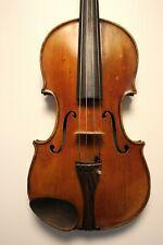 Feine Antike Geige,Violine Ztl. Giacinto Bertolazzi 4/4 inkl. Koffer