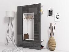 Garderobenset Kompaktgarderobe Flur FINNLAY grau hochglanz
