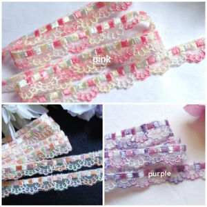 Lace trim - selling by the yard/select color