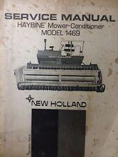 New Holland Haybine Hay Mower Conditioner Self Power Tractor 1469 Service Manual