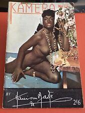 Very Rare 1950s Harrison Marks Kamera Magazine Number 26 Pamela Green Edition