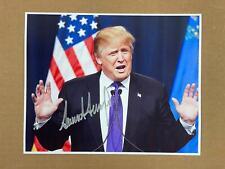 Donald Trump Signed 8X10 Photo President Autograph