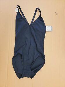 NWT Jockey Cotton Allure Bodysuit Black Size S 1647