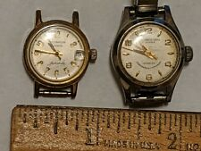 2 WATCH LOT FRASSANITO BROS UBREAKABLE MAINSPRING & WITTNAUER GENEVE AUTOMATIC