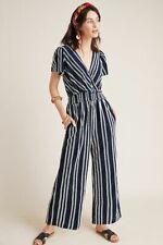 Anthropologie Dolan Canovas Striped Jumpsuit size Large MSRP: $140